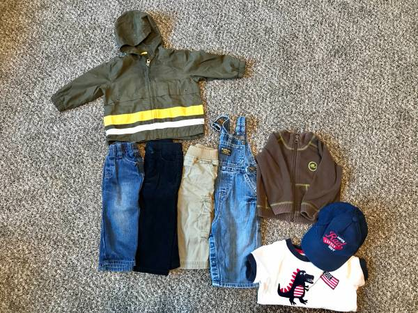 Photo Boy 12-18 month clothing lot - $7 (Tobyhanna)