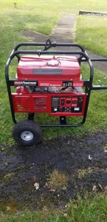 Photo Coleman 6500 Watt Generator Honda GX series 13 HP motor - $650 (Gilbert)