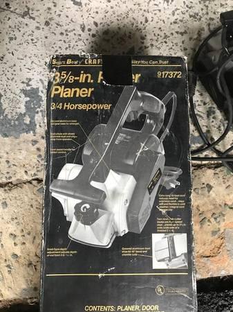 Photo Craftsman 3 58 planer 34 HP - $50 (Milford, PA)