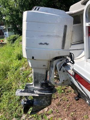 Photo Deck boat for sale - $3,500 (Lake Wallenpaupack)