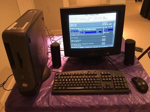 Photo Dell Dimension 4300s Computer System - $225 (East Brunswick)