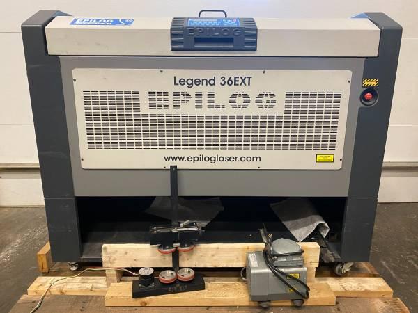 Photo Epilog Legend 36EXT Class 2 Laser Engraver - $15,000 (Morganville)