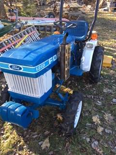 Photo Ford 1210 Diesel Tractor with York Rake and Finish Mower - $6,200 (Swiftwater, PA)