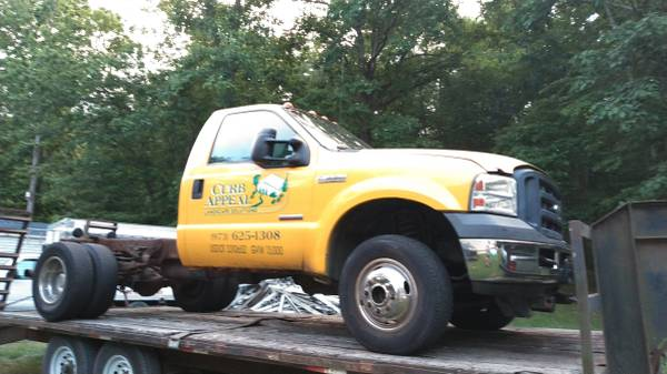 Photo Parting out Ford F350 Fisher plow truck side - $12,345 (Marshalls creek)