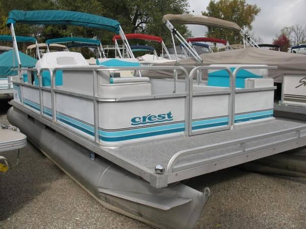 Photo Pontoon Boat - FOR SALE - $11500 (Lake Wallenpaupack)