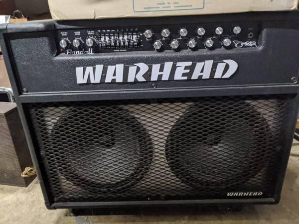 Photo Randall Dimebag Darrell Warhead WH150 2x12 Guitar Amp - Rare - $650 (Shawnee On Delaware)