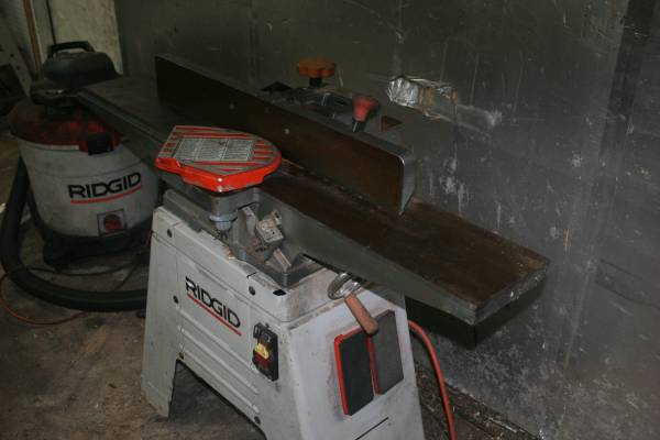 Photo Ridgid 6-12quot Jointer - Planer - $350 (Long Pond Pa)