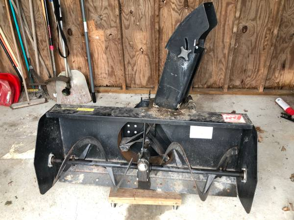 Photo Simplicity Tractor, snow blower, plow - $1000 (Honesdale)