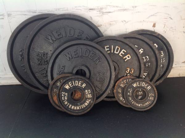 Photo WEIDER INTERNATIONAL OLYMPIC WEIGHTS GYM EQUIPMENT CROSSFIT POWERLIFT - $100 (Dingmans Ferry, PA)