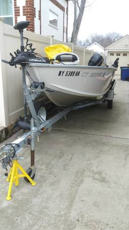Photo alumacraft fisherman 160 boat for sale - $7,000 (Staten Island)