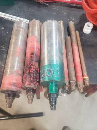 Photo 7 concrete core drill bits - $200 (Marysville)