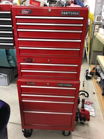 Photo Craftsman tool boxes - $350 (Wadhams)
