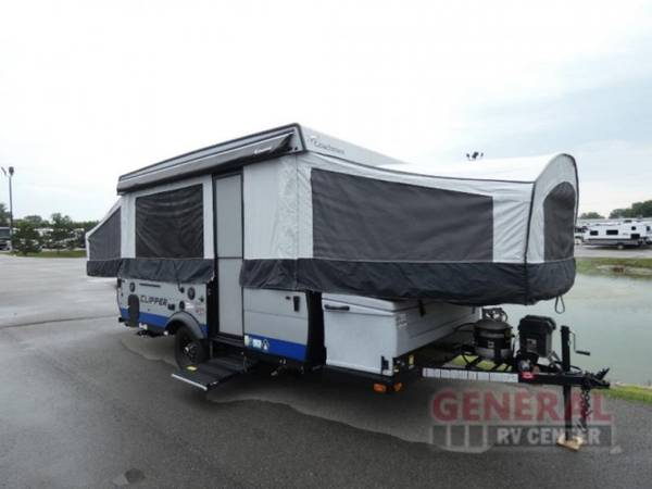 Photo Folding Pop-Up Cer 2021 Coachmen RV Clipper Cing Trailers 1285SS - $21,998