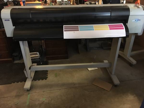 Photo Mutoh Valuejet 1204 eco solvent printer 48 - $500 (Goodells)