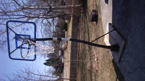 Photo NBA PRO SLAM BASKETBALL HOOP BACKBOARD NBA SPALDING - $150 (ft gratiot)