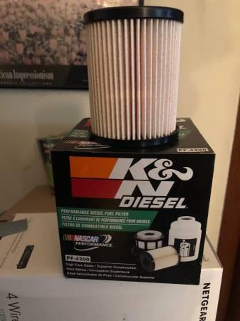 Photo NEW Diesel Fuel Filter, K-N PF-4200 (Lenox, MI)