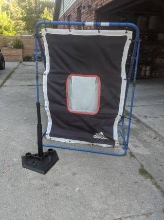 Photo Target and Rebound Adidas baseball net with Tee - $25 (Lakeport)