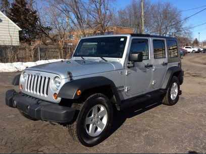 Photo Used 2010 Jeep Wrangler 4WD Unlimited Sport for sale