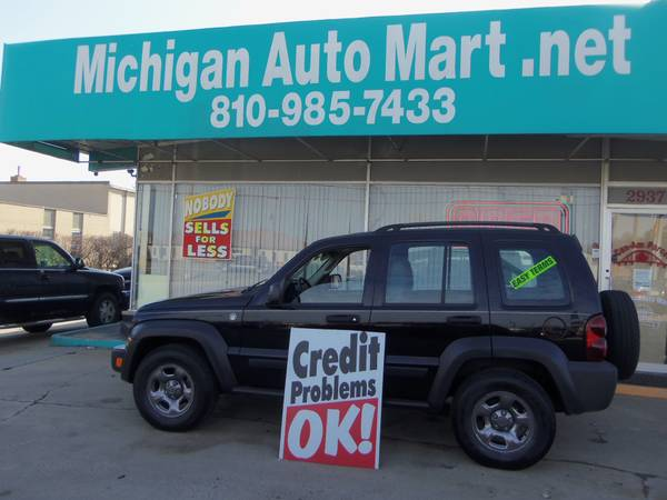 Photo 07 Jeep Liberty 4X4 with EZ FINANCING - $5,985 ( Paying too much in Ft.Gratiot)