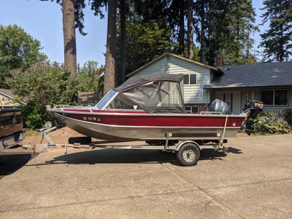 Photo 17 Ft. Almar Welded Aluminum Boat - $12,500 (Hillsboro)