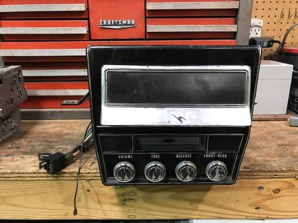 Photo 1968 Chevrolet Impala Caprice Biscayne 8 Track Player - $550 (Battle Ground)