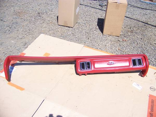 Photo 1974 - 1978 Chrysler New Yorker Dash Pads - Red or Blue - $300 (Forest Grove)