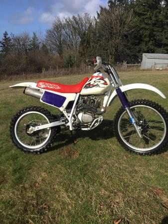 Photo 1996 Honda XR 200 - $1500 (Newberg)