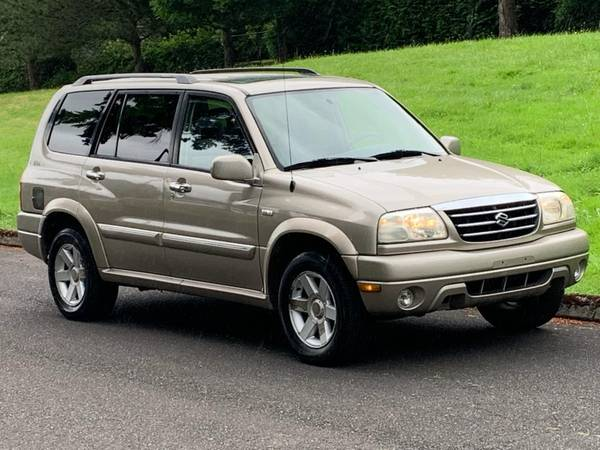 Photo 2002 Suzuki Grand Vitara XL7 4X4 Good Carfax - $3,295 (NW Portland)