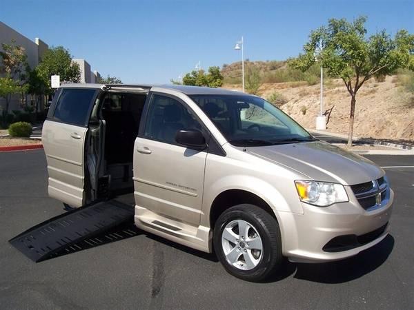 Photo 2013 Dodge Grand Caravan SE Wheelchair Handicap Mobility Van - $19,900 (BEST BUY - AZ Mobility Center)