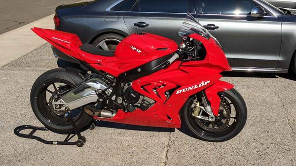 Photo 2015 BMW s1000rr track bike - $11,000