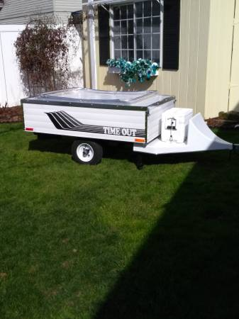 Photo 2021 Time Out Tent Trailer Lite Weight - $5,500 (Scappoose)