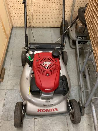 Photo 21 in. 3-in-1 Variable Speed Gas Walk Behind Self Propelled Lawn Mower - $250 (1043 E Powell Blvd, Gresham OR 97030)