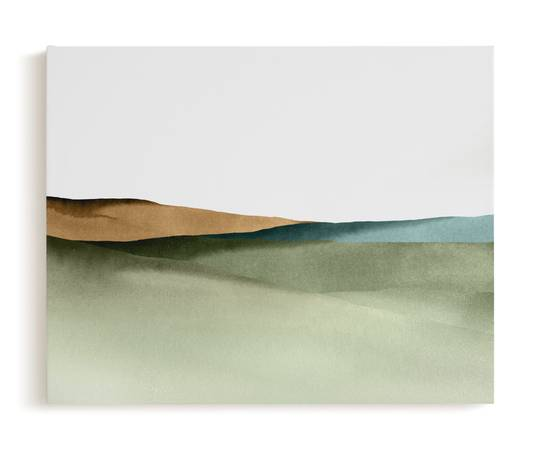 Photo Abstract Landscape Canvas Print By Little Valley Studio Made by Minted - $80 (Arbor Lodge)