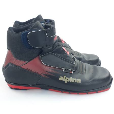 Photo Alpina NNN 142 Cross-Country Ski Shoes Boots Mens 9 Womens 10.5 Euro 4 - $50 (SE 82nd Portland, Oregon Johnson CreekFlavelDukeWoodstock)