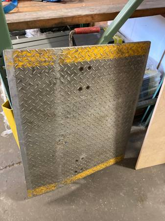 Photo Aluminum Dock Plate 30quotX36quot - $175 (Buckman)