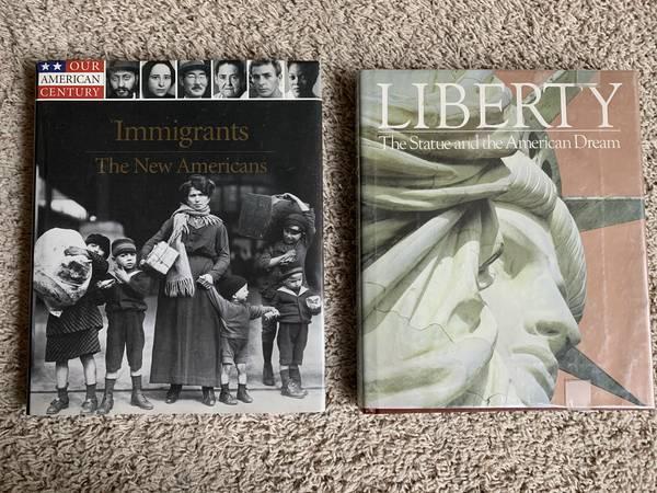 Photo American Dream  Immigration Hardcover Books - $15 (Salmon Creek  Vancouver)
