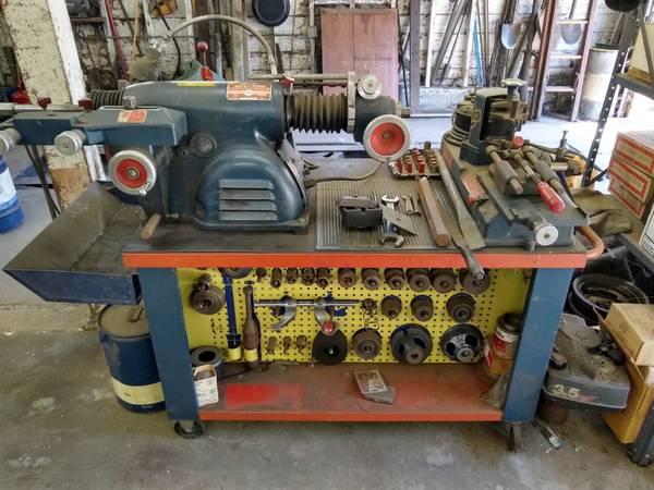 Photo Ammco brake lathe - full setup - $3,000 (Forest Grove)