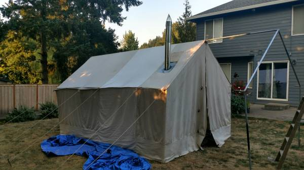 Photo Canvas Tent - $1000 (Gresham)