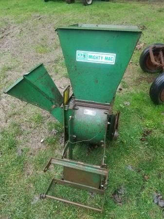 Photo Chipper for John Deere Garden Tractor - $495 (Salem)