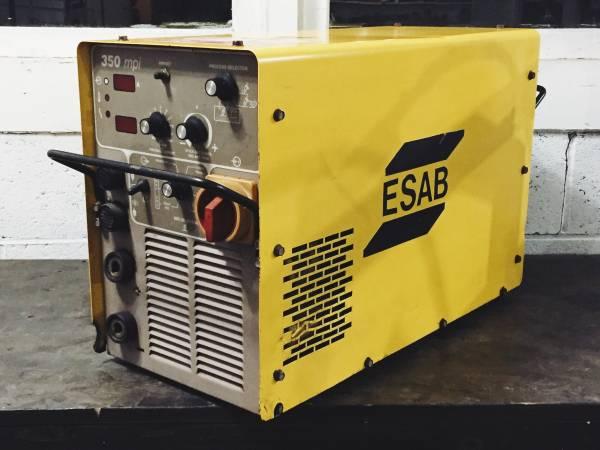 Esab 350 Mpi Multi Process Welder Tig Mig Arc Cutter 850 Ne Portland Tools For Sale Portland Or Shoppok