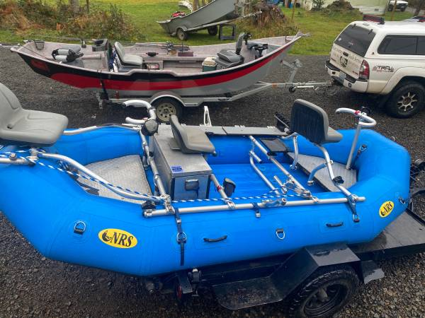 Photo Fishing raft- NRS E-136 - $7,000 (Forks)