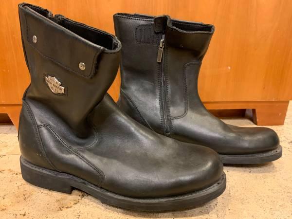 Photo Harley Davidson leather boots - size 11 - $75 (Lake Oswego)