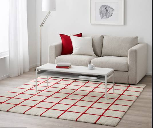 Photo Ikea Simested Rug - $40 (WoodstockSE)