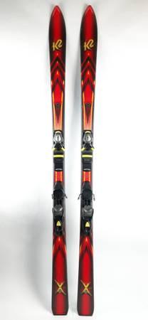 Photo K2 X Series 15 Skis 173cm Rossignol FRX 120 Bindings - $100 (SE 82nd Portland, Oregon Johnson CreekFlavelDukeWoodstock)