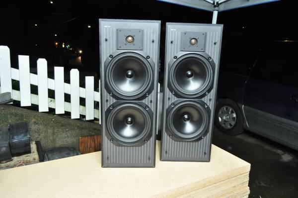 Photo KEF C40 Speakers - Bookshelf Home Audio - $150 (NE Portland)