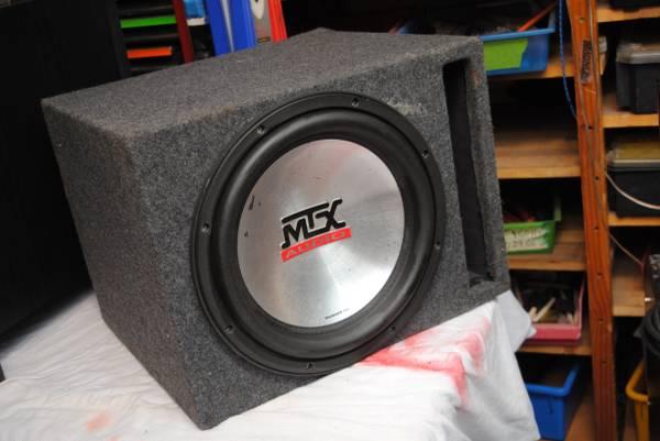 Photo MTX 7500 Series Car Audio Subwoofer - Sub - $175 (NE Portland)