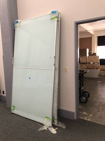 Photo Massive Humongous Gigantic Large Tempered Glass Doors Sheets Project Repurpose - $25 (Portland)