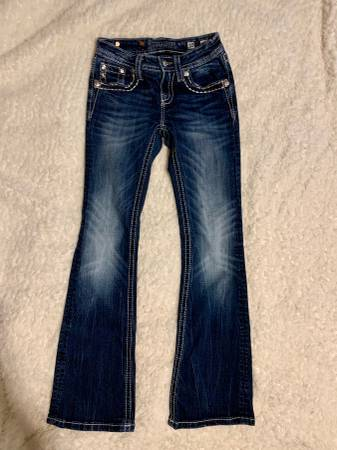 Photo Miss Me Size 10 Girls Jeans - $30 (OrchardsVancouver)