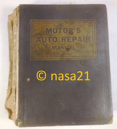 Photo Motors Auto Repair Manual, 1953-63 U.S. cars, Willys Jeep - $8 (Canby)