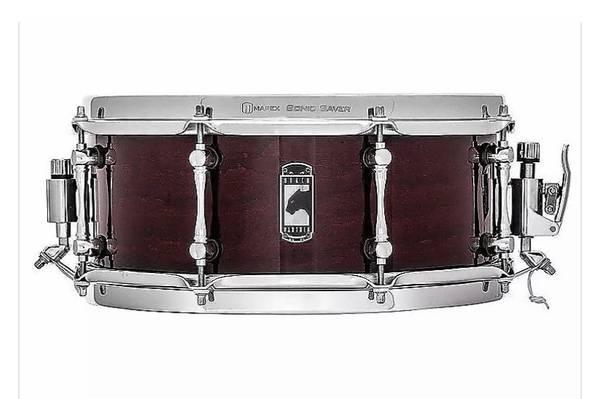 Photo NICE Mapex 5.5 x 13 Cherry Bomb Black Panther Snare Drum - $300 (Portland)